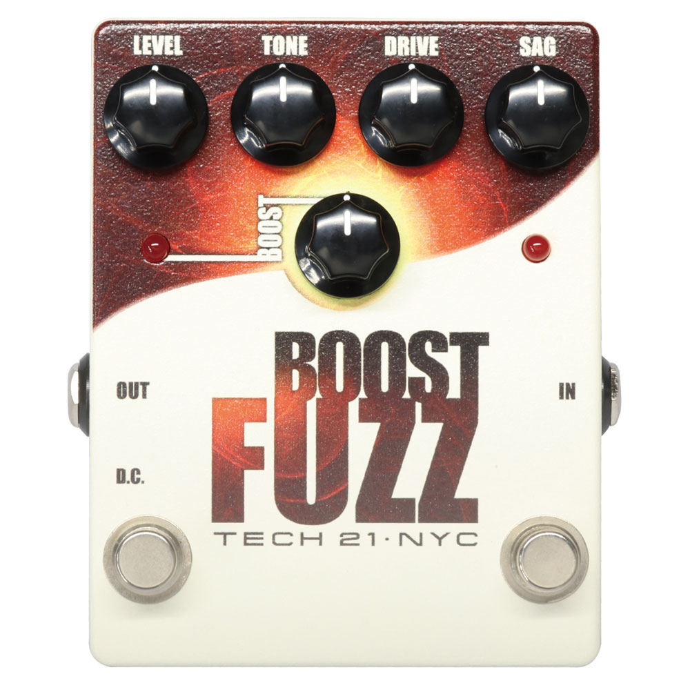 SANSAMP/Tech21 Boost Fuzz ギターエフェクター
