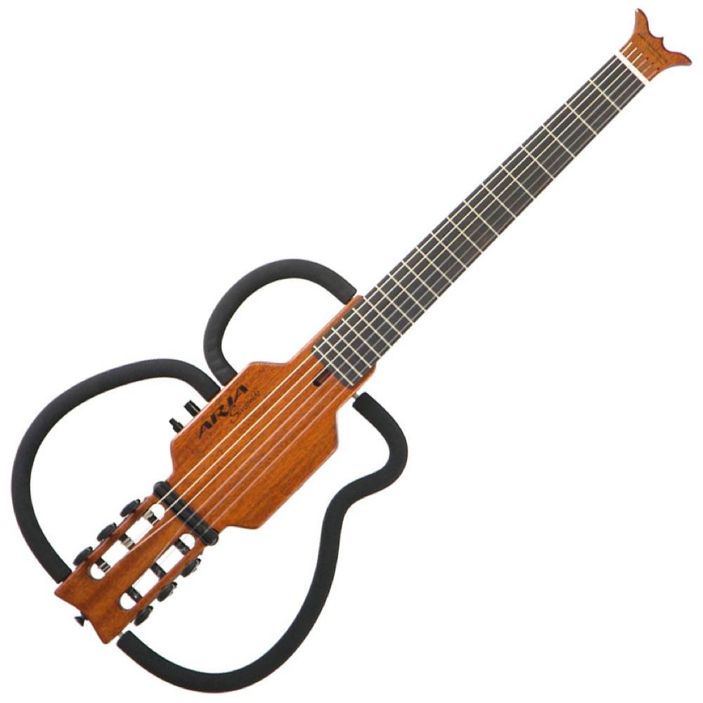 ARIA Sinsonido AS-101C SPL MH サイレントギター