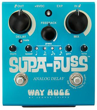 WAY HUGE WHE-707 SUPA-PUSS ANALOG DELAY ギターエフェクター