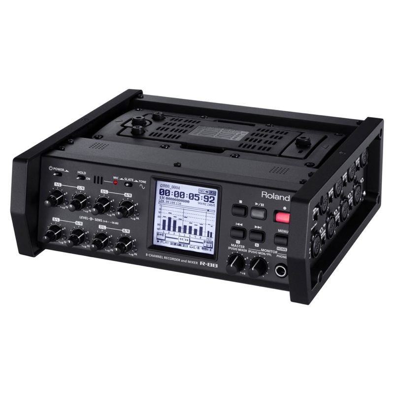 ROLAND R-88 8-CHANNEL RECORDER & MIXER レコーダー