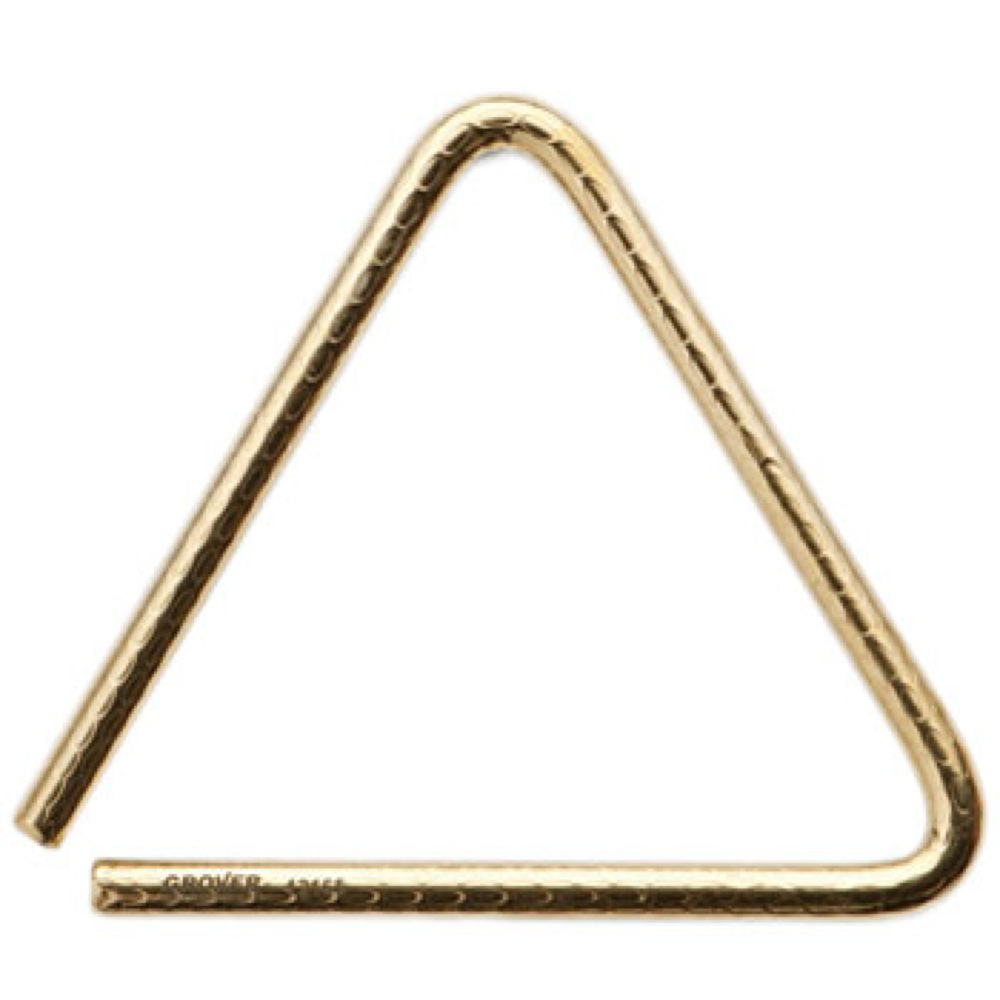 Grover Pro Percussion GV-TRBPH7 Bronze Pro Hammered Triangles トライアングル