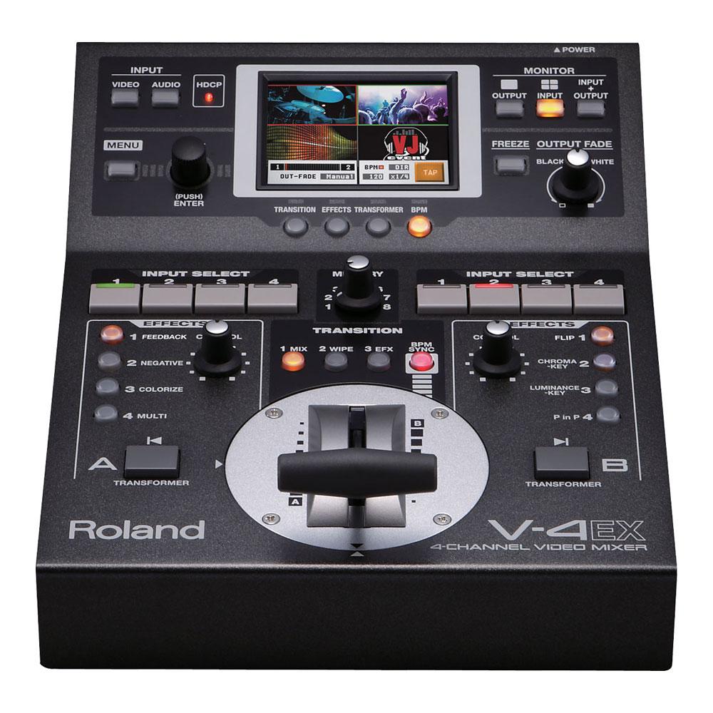 ROLAND V-4EX 4チャンネル ビデオミキサー