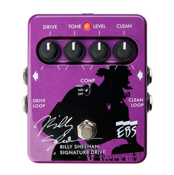 EBS Billy Sheehan Signature Drive ベース用エフェクター