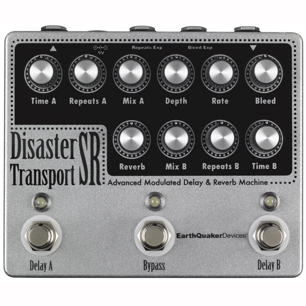 EarthQuaker Devices Disaster Devices Transport Disaster SR モジュレーションディレイ&リバーブ Transport ギターエフェクター, Asian Handmade House:0103415d --- sunward.msk.ru