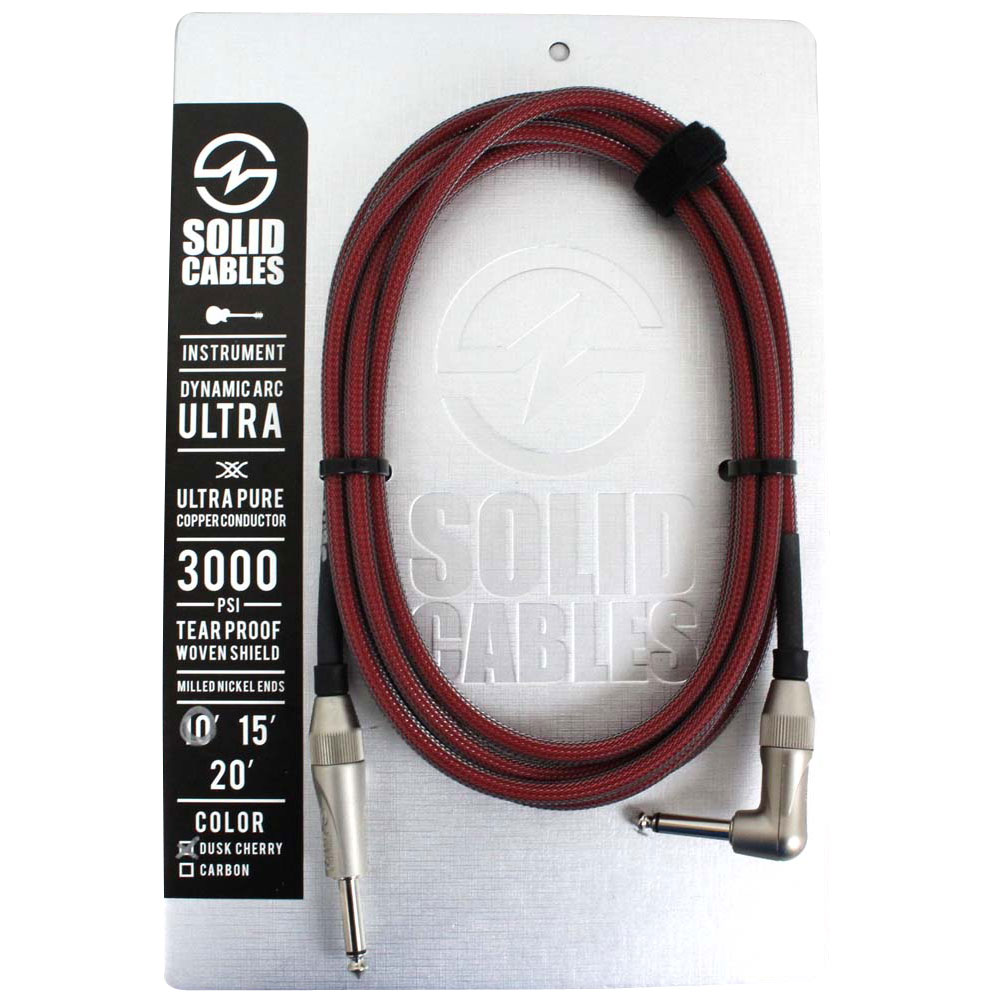 SOLID CABLES Dynamic Arc Ultra SL 10f(約3m)楽器用シールドケーブル