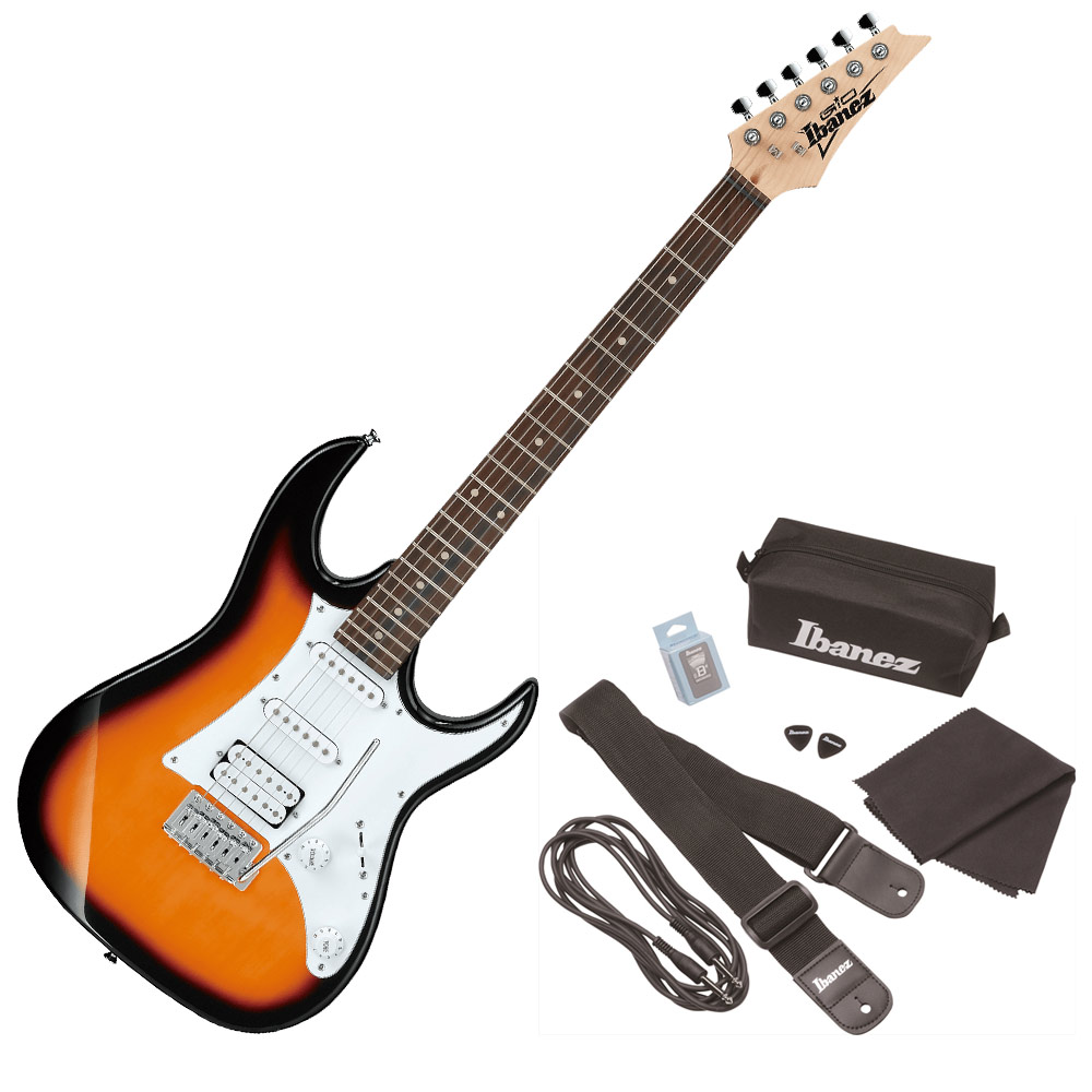 IBANEZ GRX40 TFB アクセサリーセット付き エレキギター