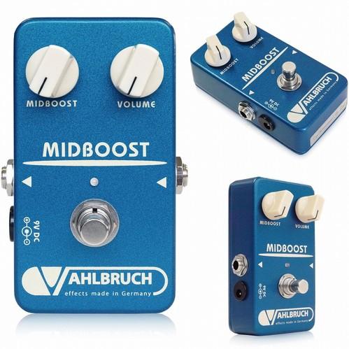 VAHLBRUCH Midboost ギターエフェクター