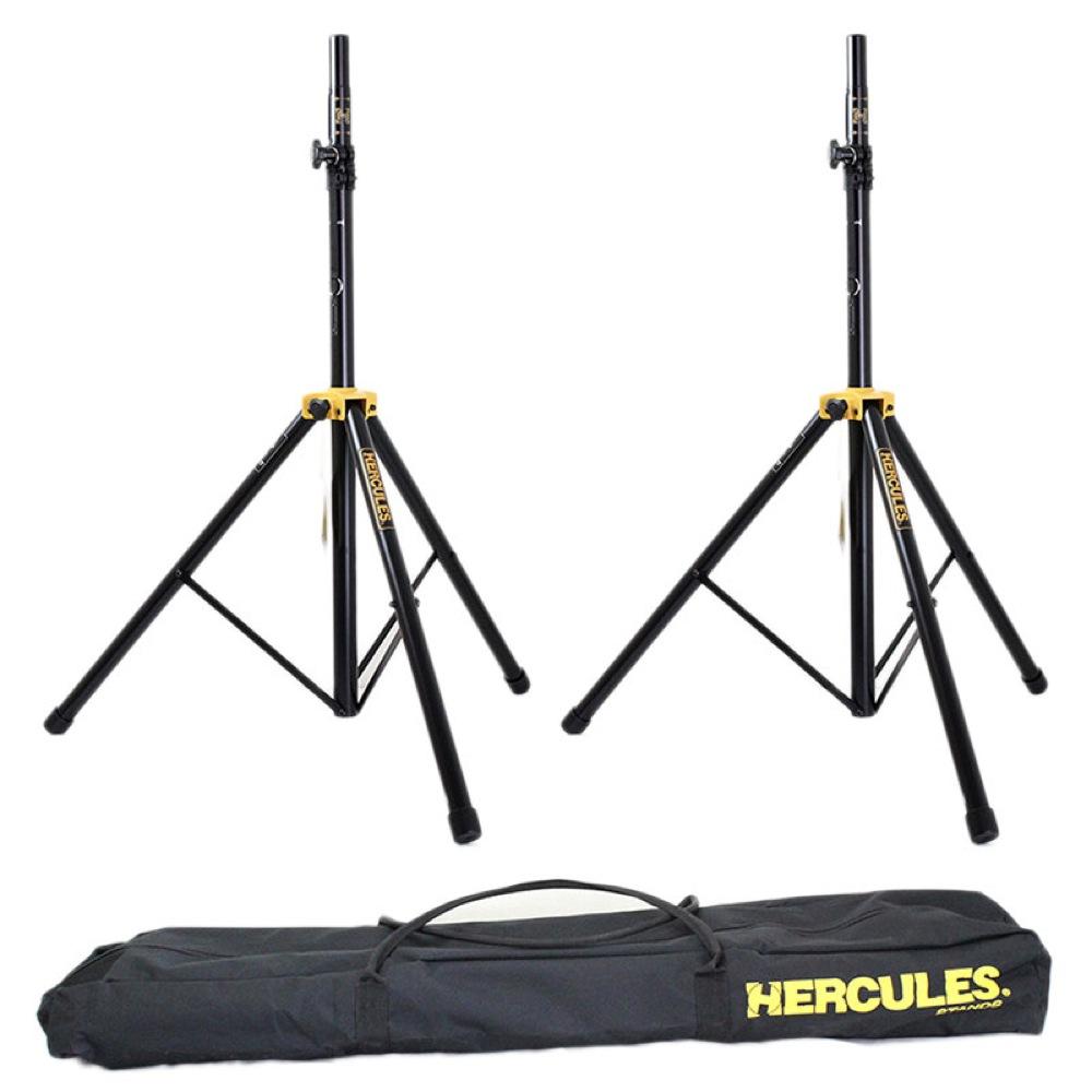 HERCULES SS200BB スピーカースタンド 2本セット キャリングバック付き