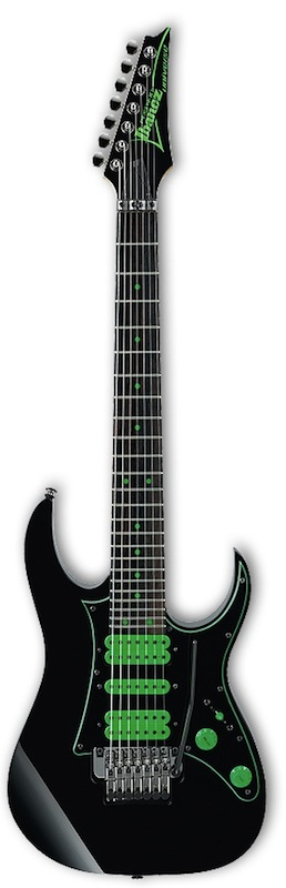 IBANEZ PREMIUM UV70P BK Steve Vai Signature Model 7弦エレキギター