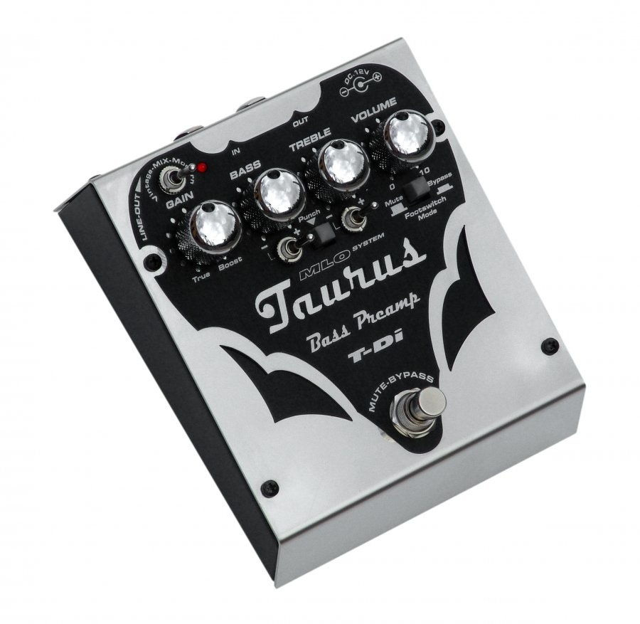 TAURUS T-Di Pre-amp Direct Box ベース用プリアンプ DI