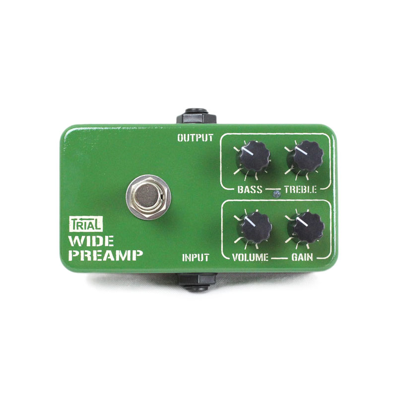 TRIAL WIDE PREAMP ギターエフェクター