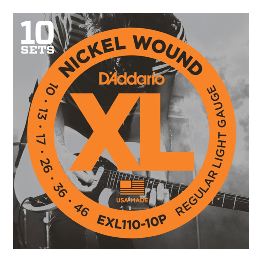 ダダリオ エレキギター弦 即日出荷 内祝い 10セットパック D'Addario 10-46 EXL110-10P
