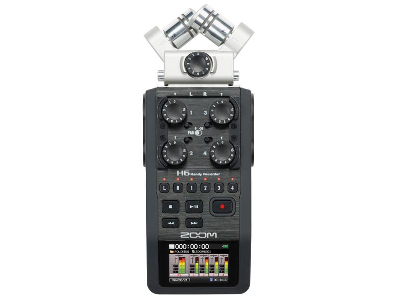 ZOOM H6 Handy Recorder ハンディーレコーダー