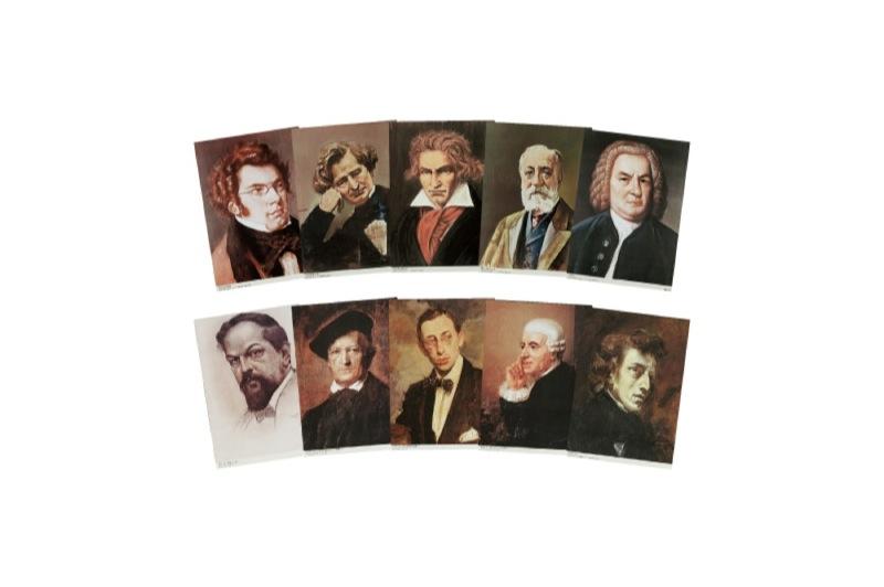 全音 世界大音楽家肖像画集 増補版