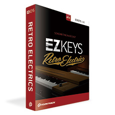 TOONTRACK EZ KEYS RETRO ELECTRICS ピアノソフトウェア音源