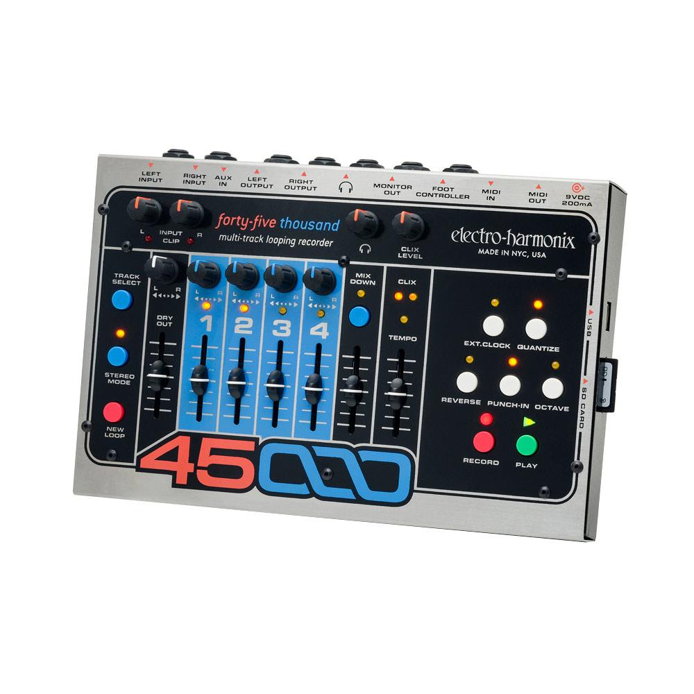 ELECTRO-HARMONIX 45000 マルチトラック・ルーピング・レコーダー