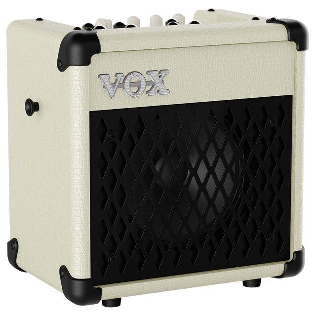 VOX MINI5 Rhythm IV リズム機能付きコンパクトアンプ アイボリーカラー