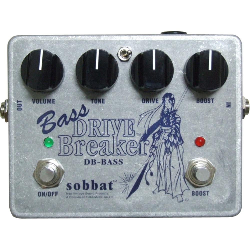 sobbat Drive Breaker DB-BASS ベース用オーバードライブ エフェクター