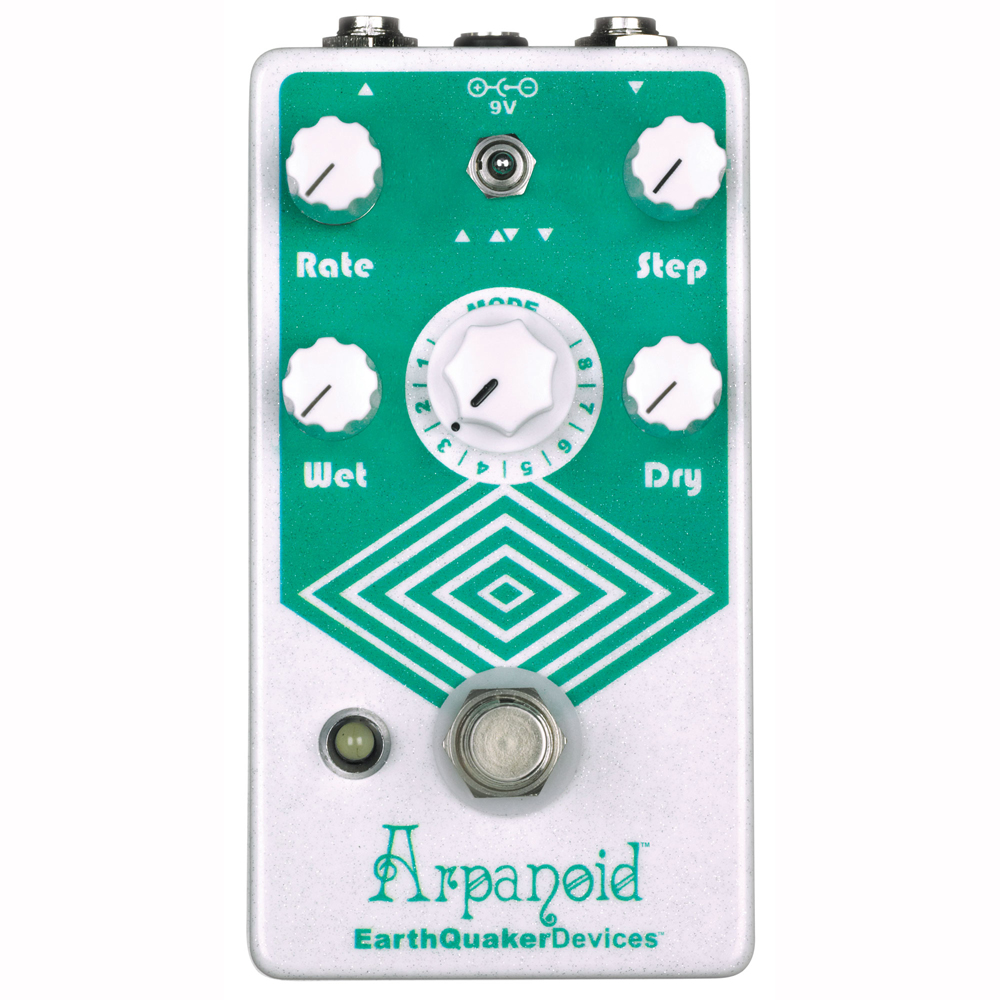 EarthQuaker Devices Arpanoid アルペジエーター ギターエフェクター