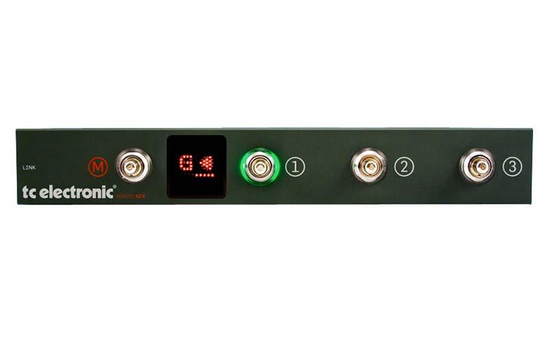tc electronic Remote RC4 リモート・フットスイッチ