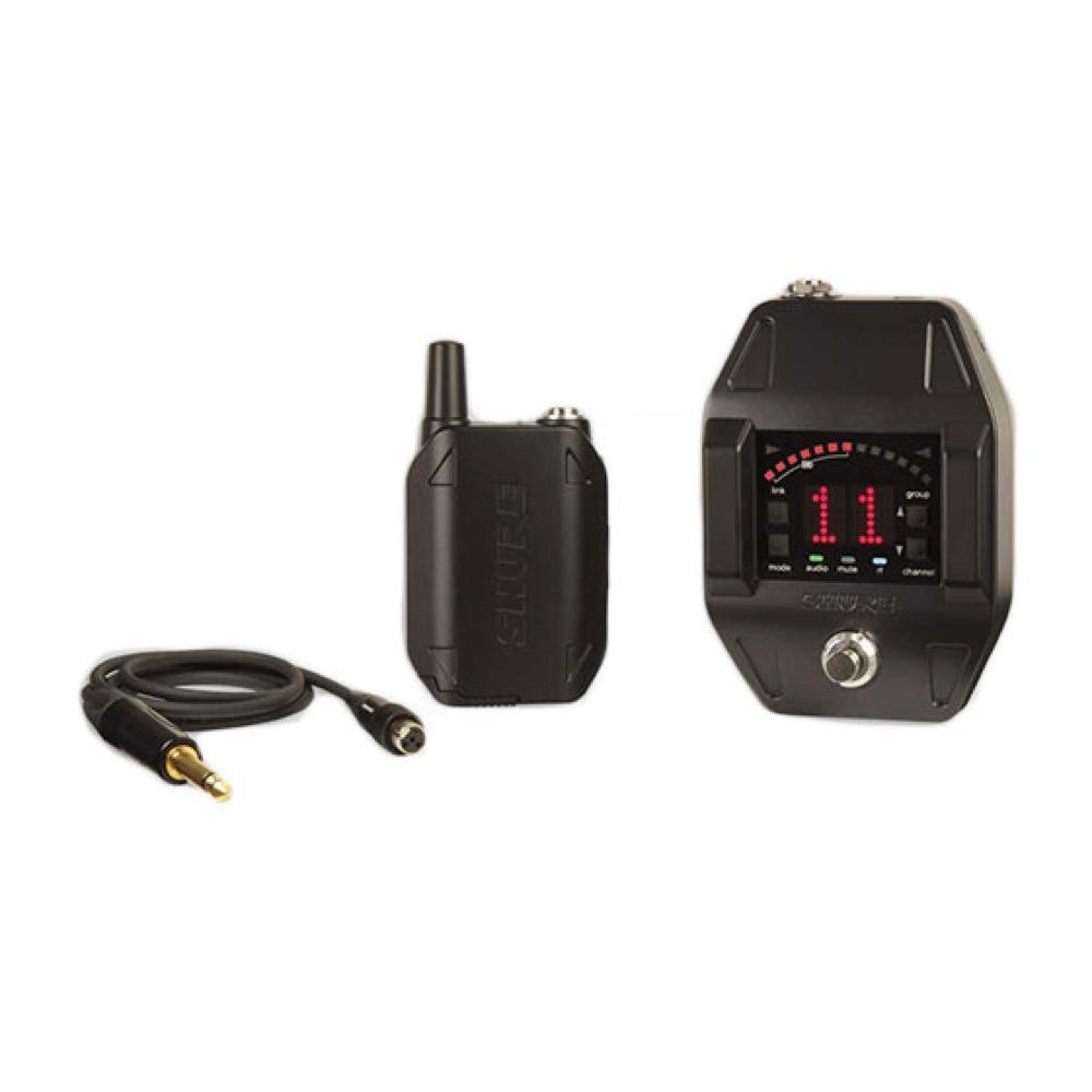 SHURE GLXD16J ボディパック型ワイヤレスシステム(ギター/ベース用)