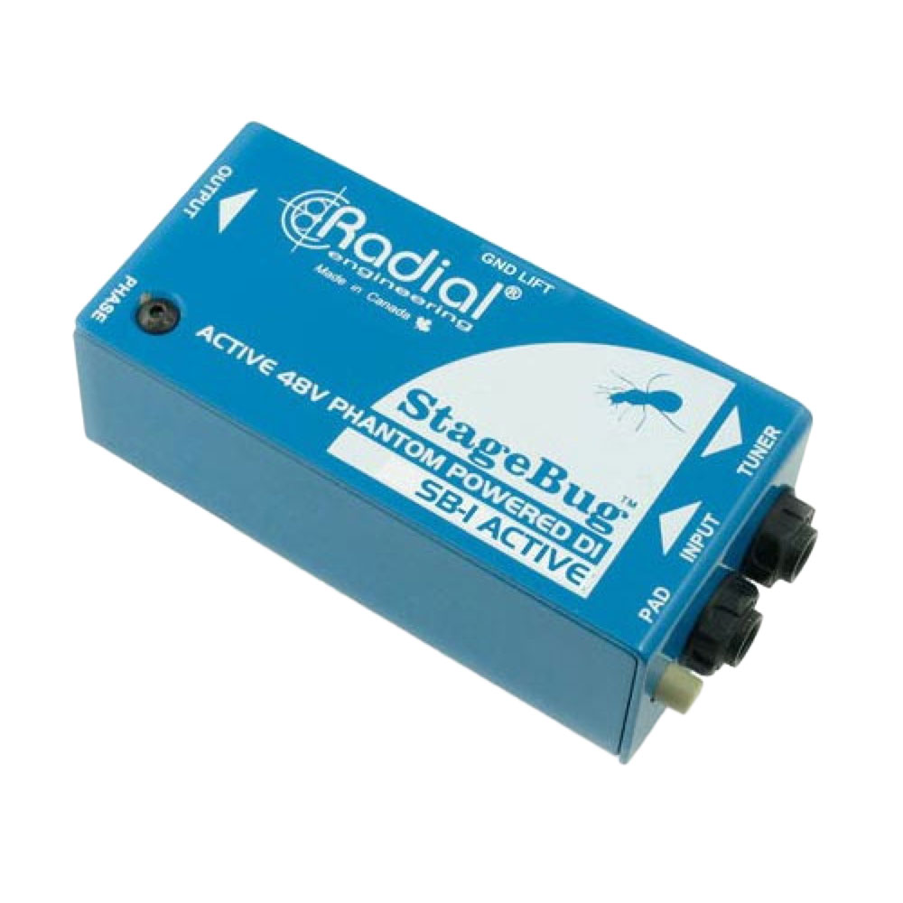 RADIAL StageBug SB-1 Acoustic エレアコ用アクティブDIボックス