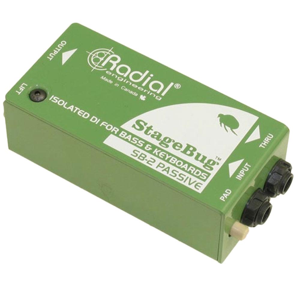 RADIAL StageBug SB-2 Passive パッシブDIボックス