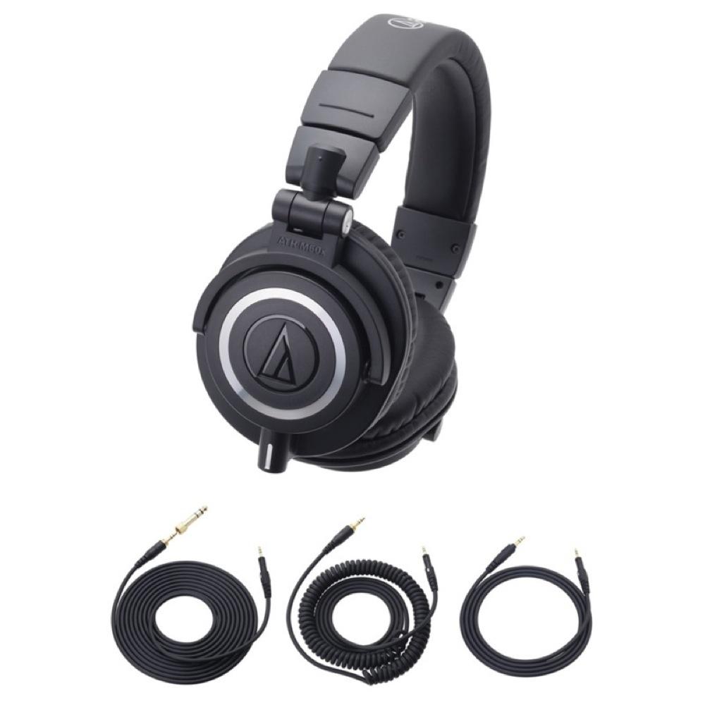 AUDIO-TECHNICA ATH-M50x プロフェッショナルモニターヘッドホン