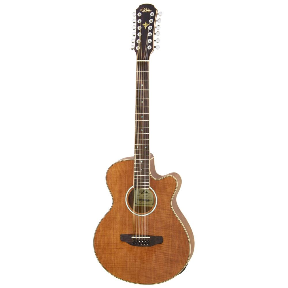 ARIA FET-12/SPL N 12弦エレクトリックアコースティックギター