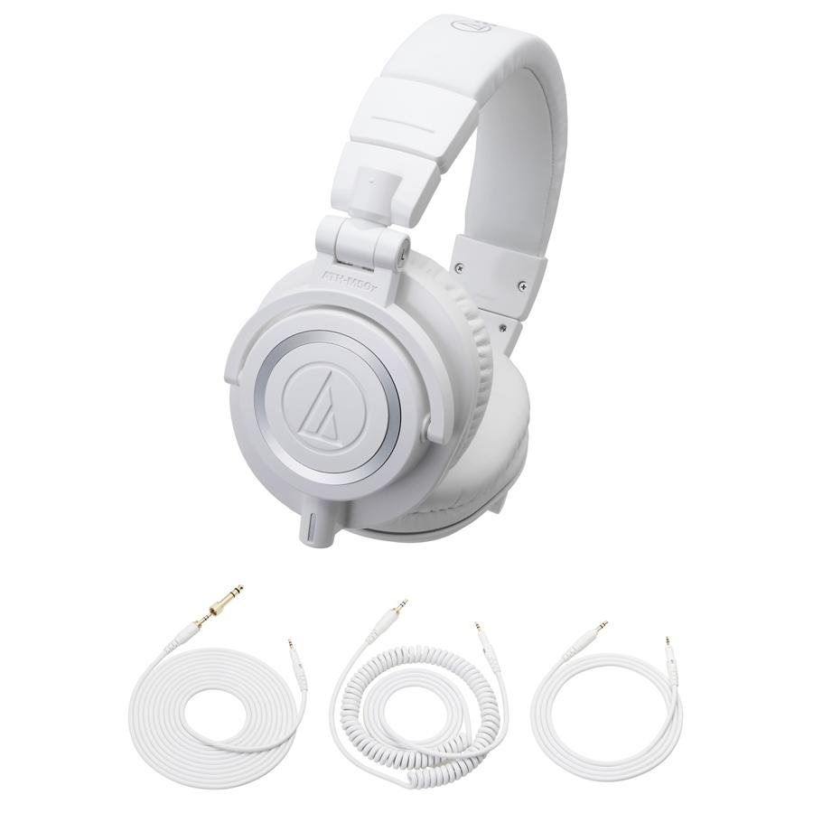 AUDIO-TECHNICA ATH-M50xWH プロフェッショナルモニターヘッドホン