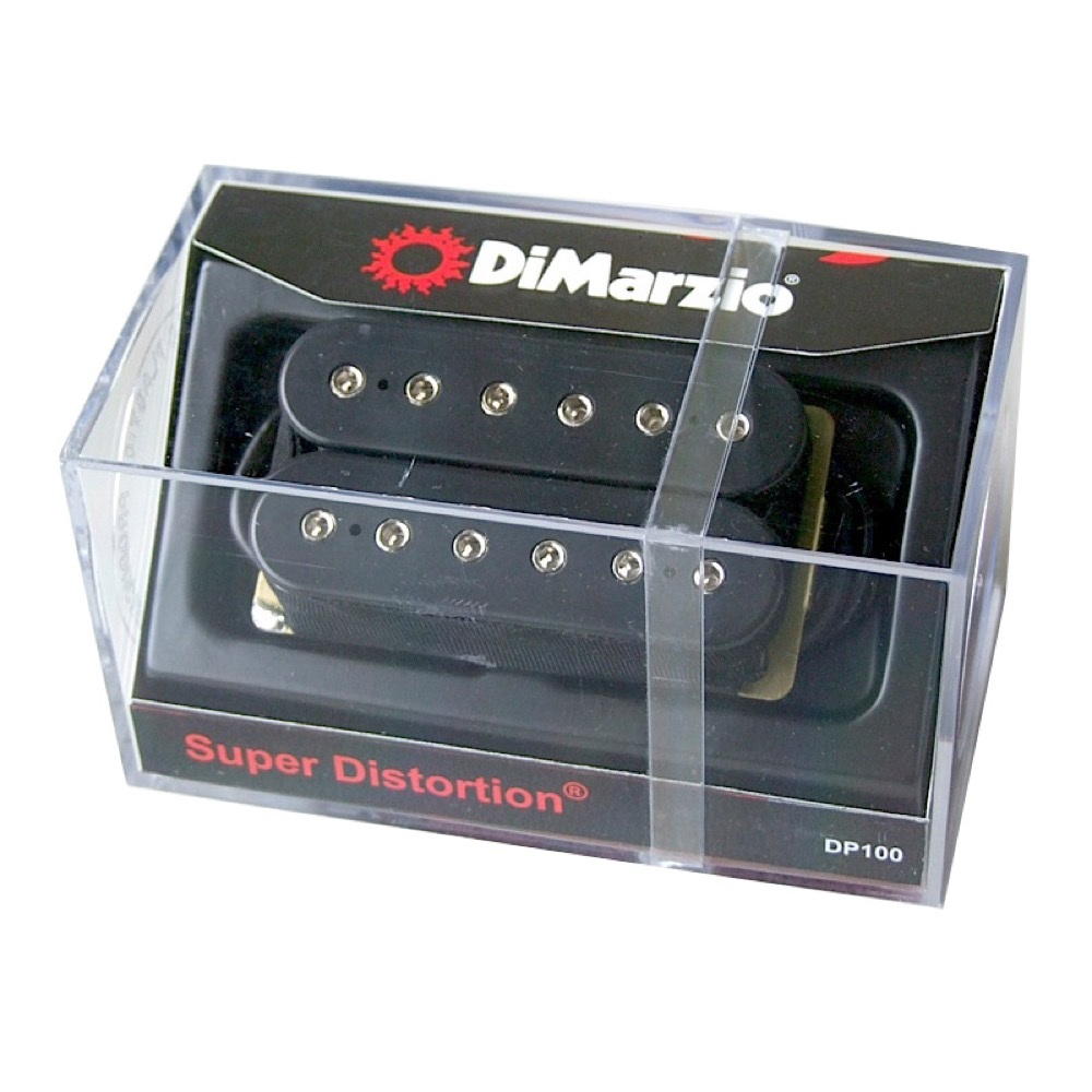 Dimarzio DP100 SuperDistortion BK ギターピックアップ