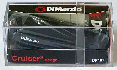 Dimarzio DP187/The Cruiser Bridge/BK