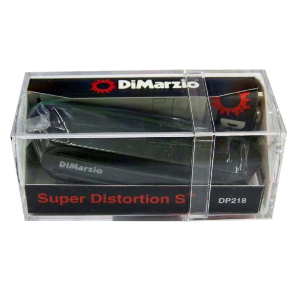 Dimarzio DP218/Super Distortion S/BK