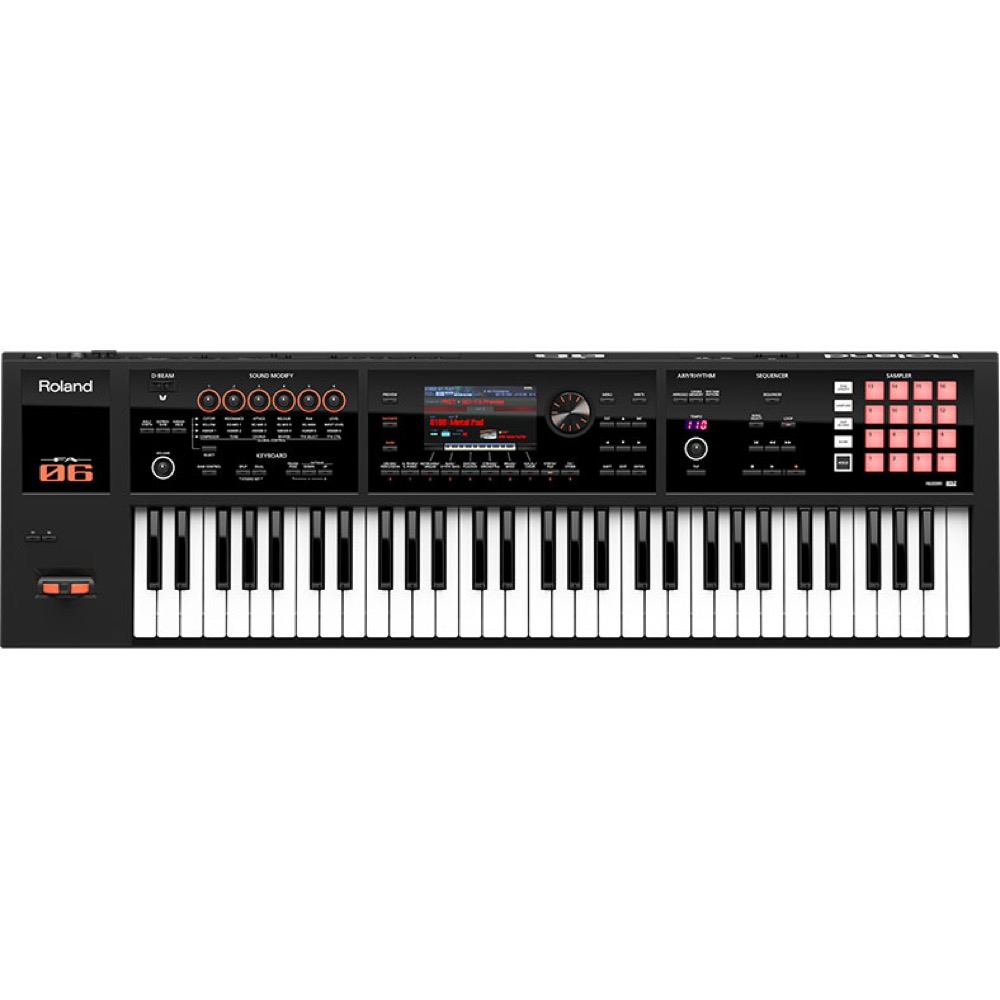 ROLAND FA-06 Music Workstation シンセサイザー