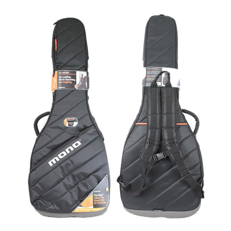 mono M80 VHB-BLK VERTIGO Semi-Hollow JET BLACK セミアコースティックギター用ケース