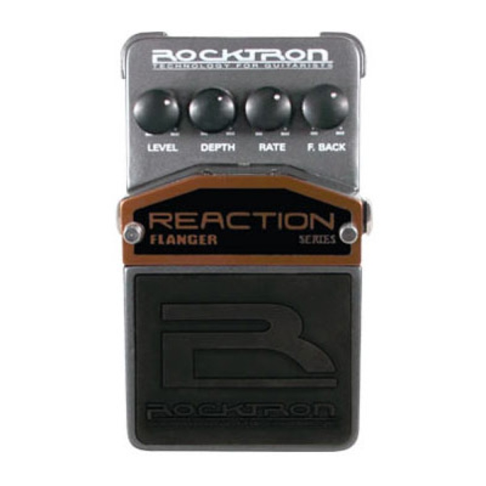 ROCKTRON Reaction Flanger ギターエフェクター