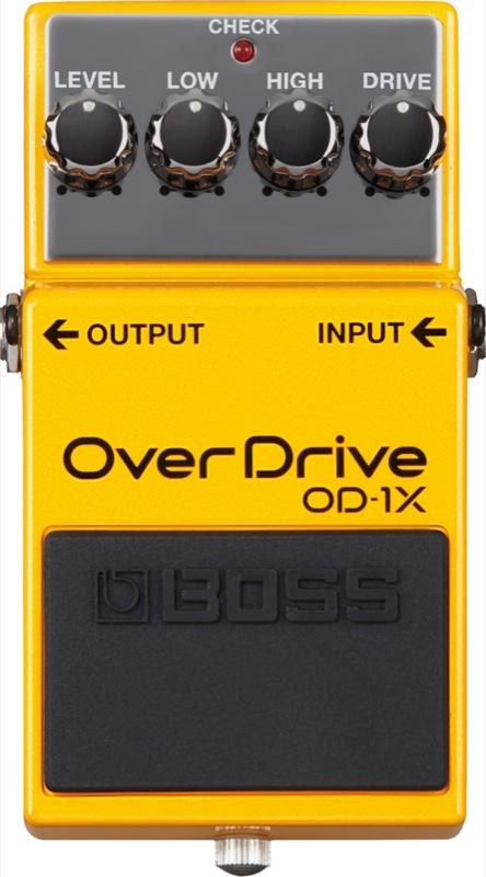 BOSS BOSS Overdrive OD-1X Overdrive オーバードライブ OD-1X エフェクター, カキザキマチ:67582932 --- sunward.msk.ru