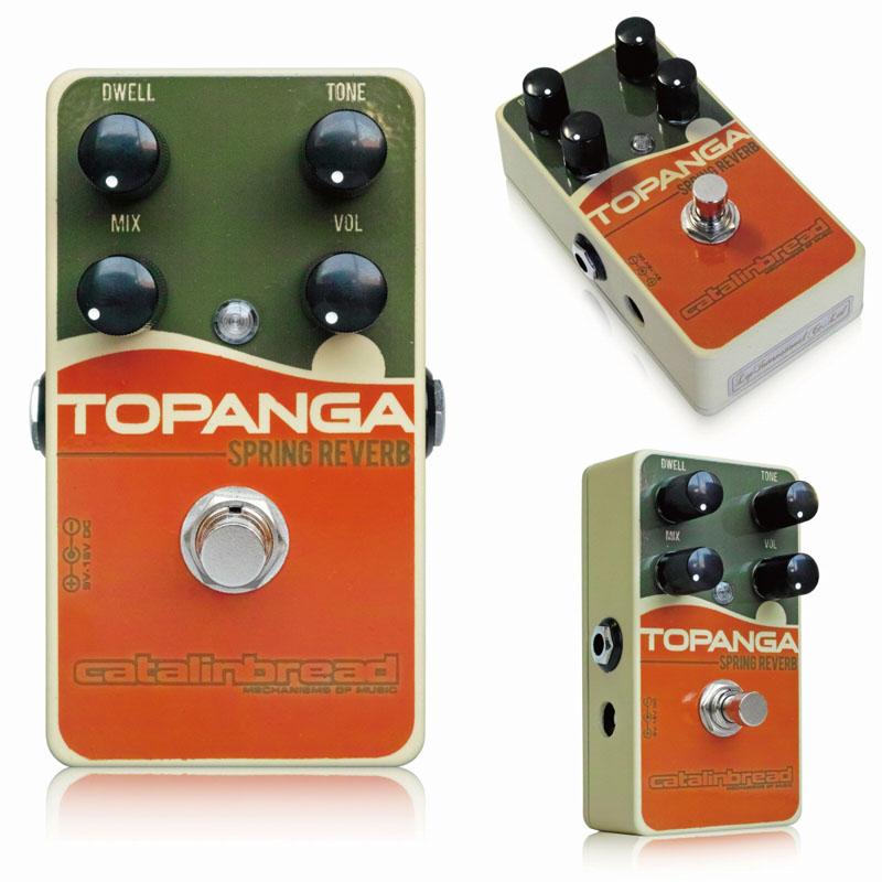Catalinbread Topanga Spring Reverb ギターエフェクター