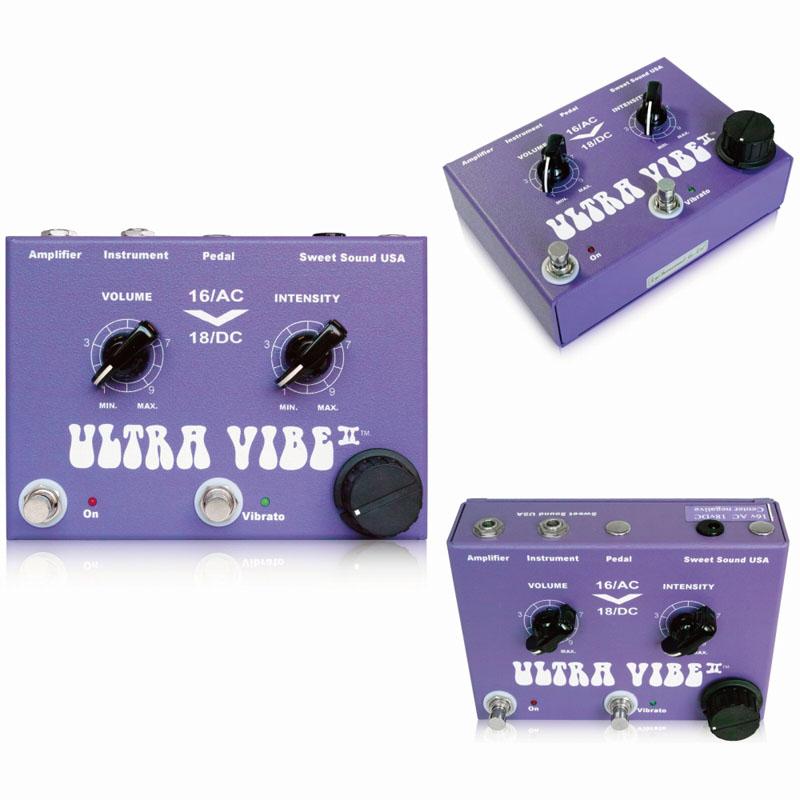 Sweet Sound Ultra Vibe II ギターエフェクター