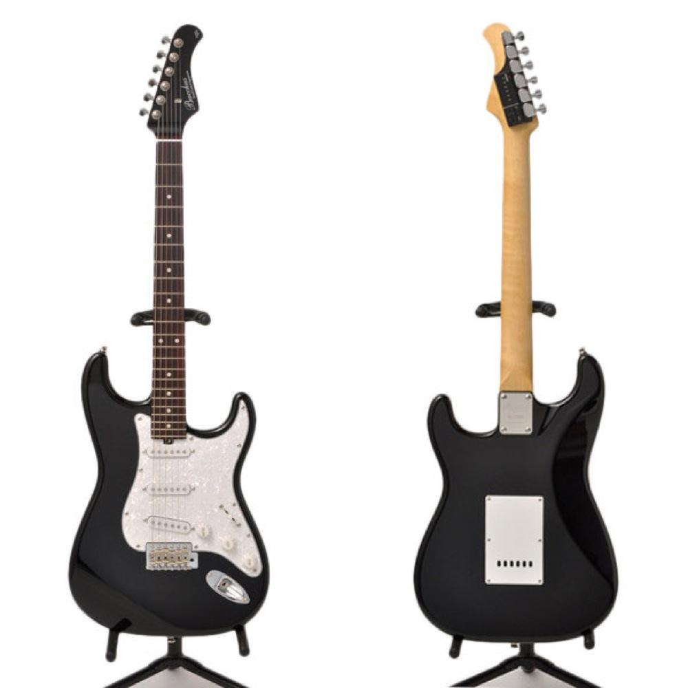 BACCHUS BST-TTC BLK エレキギター