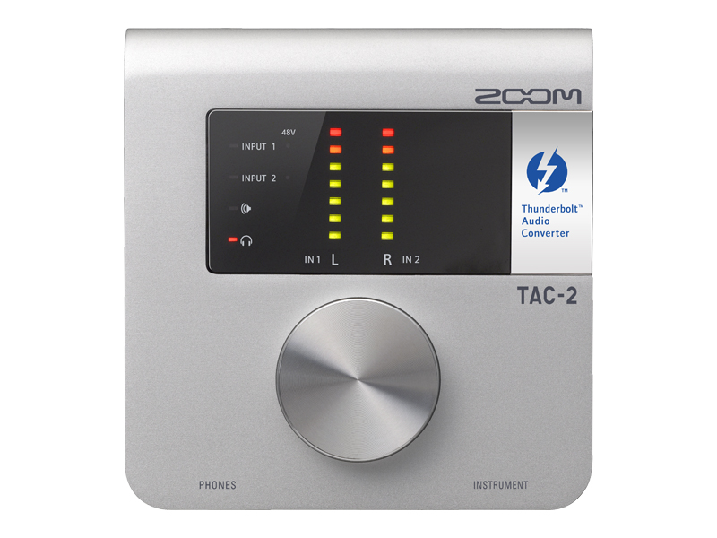 ZOOM TAC-2 2in/2out Thunderbolt Audio Converter