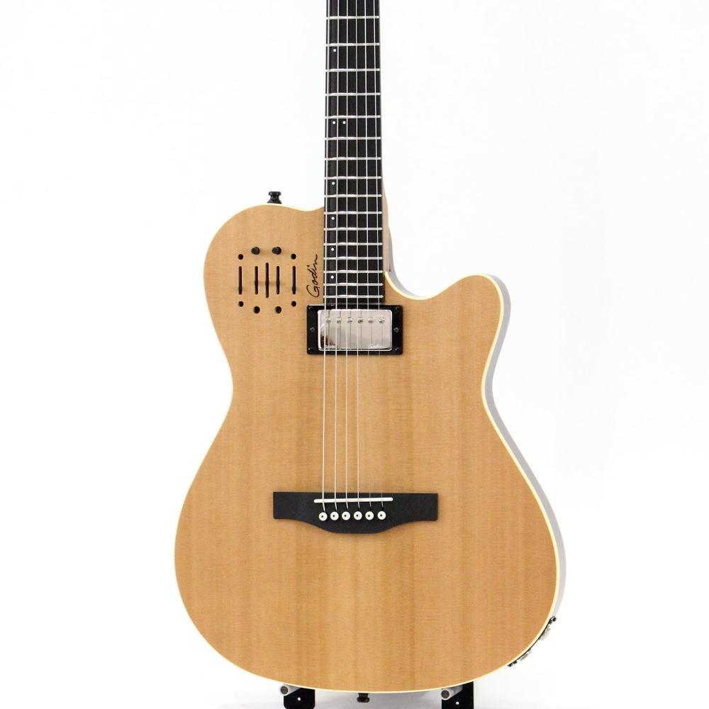 Godin A6 Ultra Natural スチール弦 ハイブリッド エレアコ 正規輸入品
