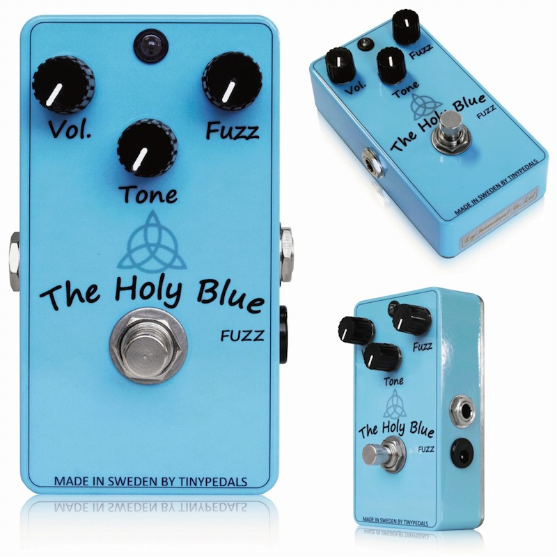 tiny Pedals The Holy Blue Fuzz ギターエフェクター
