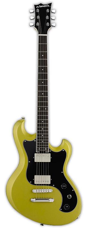 EDWARDS E-UT-100SL Lime Gold エレキギター
