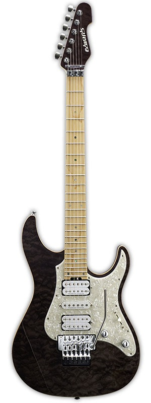 EDWARDS E-SN-150FR Black Natural エレキギター