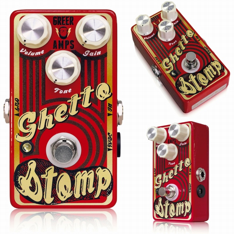 Greer Amps Ghetto Stomp ギターエフェクター