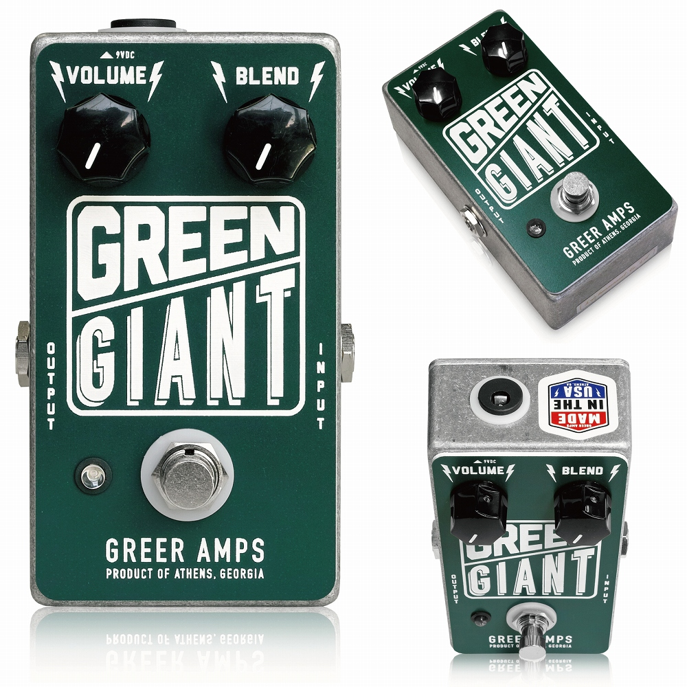 Greer Amps Green Giant ギターエフェクター