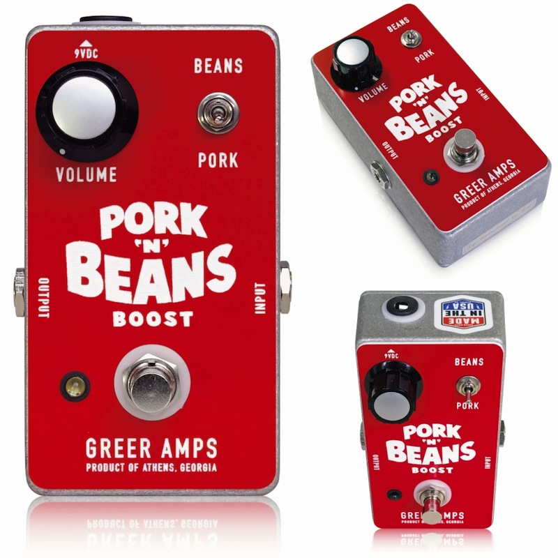 Greer Amps Pork N Beans ギターエフェクター