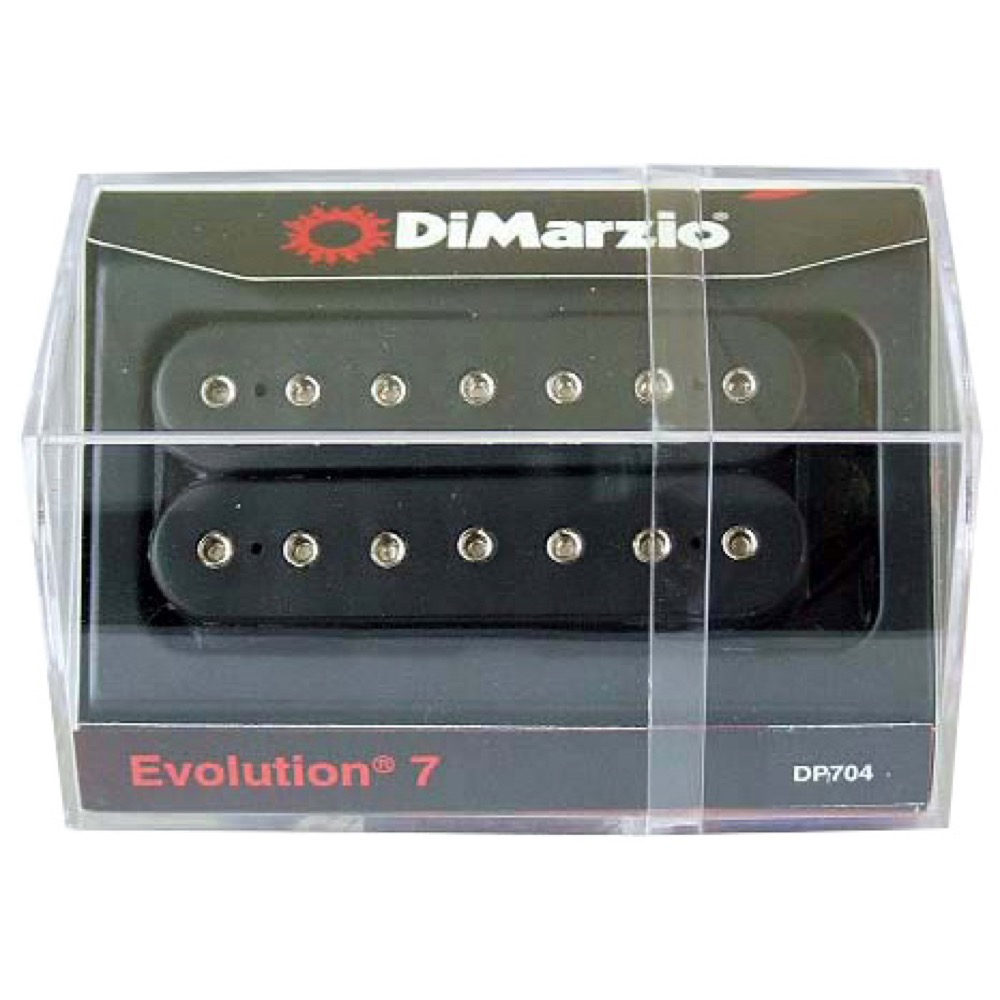 Dimarzio DP704/Evolution 7/BK