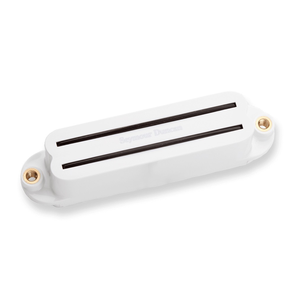 Seymour Duncan SHR-1b Hot Rails for Strat Bridge White ギターピックアップ